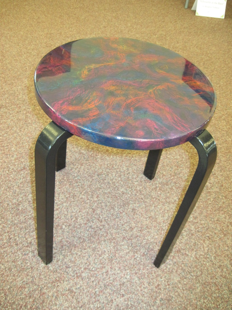 Gemstone Inspired Table